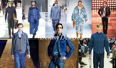 6. Men Trends Spring Summer 2015: Denim Delight And what a delight it is to see the return of denim as such a strong statement. Don't let your mind wonder towards nineties or early naughties denim combinations, as this incarnation of the humble yet evergreen fabric is fashion forward, directional and totally surprising.