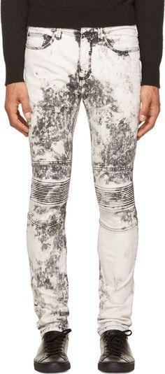 Straight Fit Acid Wash Jeans Vintage  Men&39s Fashion  Pinterest