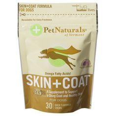 Pet Naturals Dog Skin+Coat Supplement 30 ct