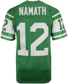 Mitchell   Ness Men Joe Namath New York Jets Replica Throwback Jersey 6dc92ebe6
