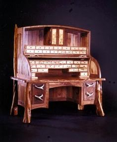 Fly Tying Desk by Norseman Designs West. I hope to build one of these some day!