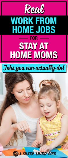 Preparing for baby, stay at home! The ULTIMATE list of ideas for work from home jobs for moms. These are real jobs you can actually do, make good money and stay at home with your babies. #SLL #SAHM #workfromhome