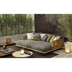 [New] The 10 Best Home Decor Ideas Today (with Pictures) - QUADRADO outdoor double daybed sports minimal shapes and a reclining backrest recalling the classic Teak duckboard. Design by Outdoor Daybed, Diy Outdoor Furniture, Patio Daybed, Out Door Furniture, Outdoor Furniture Sofa, Modern Garden Furniture, Daybed Canopy, Pool Furniture, Modular Furniture