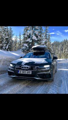 Audi A7 winter
