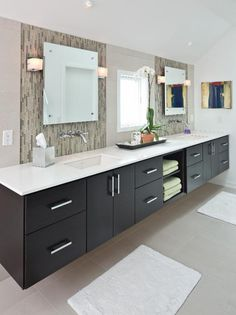 Photo of Black Laundry Room project in Indianapolis, IN by Adam Gibson Design