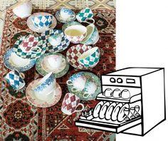 Die Abwaschmaschine streikt Snow Globes, Pottery, Home Decor, Tips, Ceramica, Decoration Home, Room Decor, Pottery Marks, Ceramic Pottery