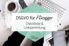 Du hast Panik vor der DSGVO und möchtest wissen welche Auswirkungen sie auf deinen Blog und dein Online Business haben? Hier ist eine Checkliste und Linksammlung der besten Artikel zu dem Thema mit denen du gut vorbereitet für die DSGVO wirst!