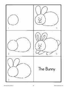 Ako nakresliť zajaca