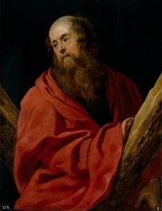 RUBENS Pieter Peter - Flemish (Siegen 1577-1640 Antwerp) ~ St Andrew ca. 1611 / Prado Madrid