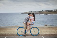 bombo quarry, beach, rocks, engagements shoot, session, esession, prewedding photos, kiama, south coast, nsw, david and melinda, enagaged, pictures, blow hole, bike, bicycle, blankets, light painting, torches, night photos, ideas, outfits, fun, couples shoot,