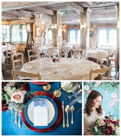 Beauty and the Beast wedding tablescapes on Gateway Bridal Blog