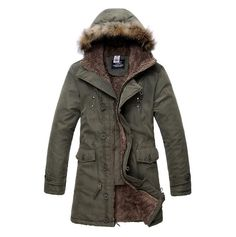 Exclusive Avant-Garde Hooded Parka Jacket – U R B A N S T O X ...