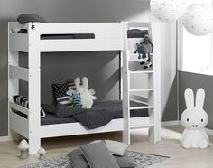 Modulo high sleeper bed - white
