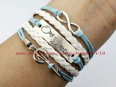 Jewelry bracelet wishing box bracelet one direction by handworld, $5.29