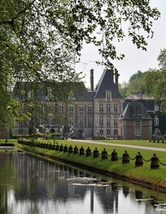 ~Chateau de Courances - Vallée de l'École, Paris district