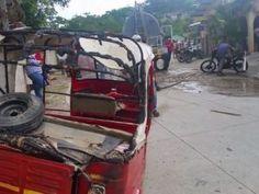 Se incendia taller de motos en la Entrada Copan