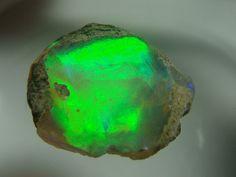Ethiopian kryptonite (opal) | via Jeff Schultz on Flickr