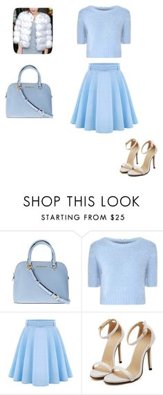 """Scream Queens Inspired Outfit"" by ellamccarthy001 ❤ liked on Polyvore featuring beauty, Michael Kors and Glamorous"
