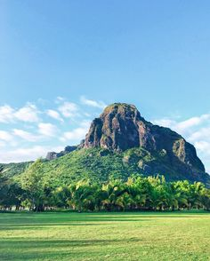 """I woke up very early and went for a walk. I'm very impressed by this huge rock behind the hotel called Le Morne. So to get a better look at it I made a shortcut through the golf course. When I was right in the middle I heard a furious """"be careful"""" with a distinctive French accent. An old lady was already on the hole 8 at 7 o' clock in the morning. And... I thought I was the only guest awake at that time!!  Th summit stands 556 metres above sea level and covers an area of over 12 hectares…"""