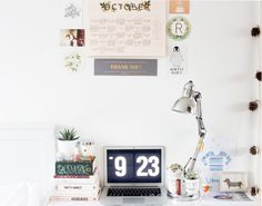 Creating An Awesome Workspace On A Budget  — From Roses