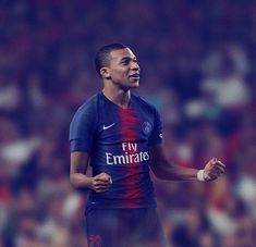 Staying true to tradition, Paris Saint-Germain's new home kit bristles with the historic red and blue cherished by the club's fans. Cristiano Ronaldo, World Football, Football Players, Mbappe Psg, France Vs, Football Mondial, The Golden Boy, Football Predictions, Soccer