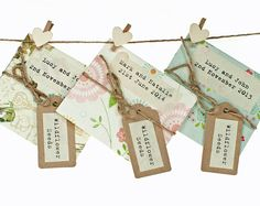 Seed Packs - Creative Wedding Giveaways Ideas – Top 20 Items to Preserve Memories - EverAfterGuide