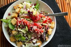50 vegetarian recipes to make your Meatless Monday so delicious: Winter panzanella salad