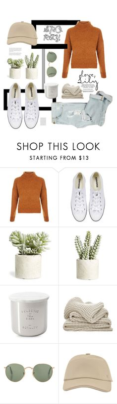 """""""Sporty"""" by kallimanis ❤ liked on Polyvore featuring New Look, Converse, Allstate Floral, Tom Dixon, Hermès and Oris"""