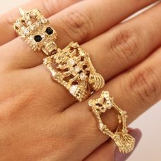 one or three? #ring finger skeleton