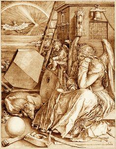 Melencolia I, Albrecht Durer, 1514.