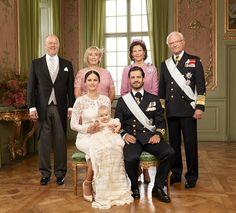 The official photos from the christening of Prince Alexander Erik Hubertus Bertil of Sweden
