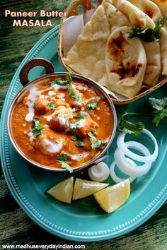 paneer butter masala recipe - quick and delicious restaurant style paneer butter masala, is a onion and tomato based creamy curry with soft paneer cubes.Best served with nan, rice or jeera rice. its also popularly called paneer makhani. Paneer Masala Recipe, Butter Masala Recipe, Butter Paneer, Paneer Makhani, Milk Recipes, Lunch Recipes, Indian Food Recipes, Soup Recipes, Cooking Recipes