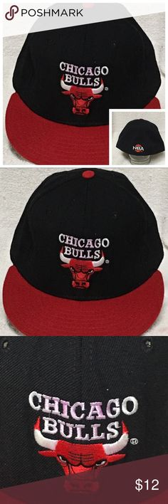 Chicago Bulls NBA Vintage Cap New Era Fitted Chicago Bulls NBA Vintage Cap New Era    Chicago Bulls NBA Vintage Cap New Era  59/50 Fitted Size 7 1/8. The cap is in Good Overall Condition With Some Fading And Stains On Inside Of The Caps Band.    #nba #basketball #cap #hat #chicagobulls #sports #collectibles New Era Accessories Hats