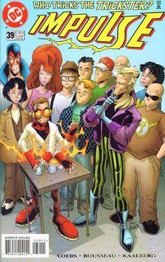 IMPULSE #39, DC COMICS, 1.998, USA