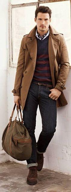 Ideas For Choosing Men's Outfit Colors | Men's Fashion 2016 dark-brown-3