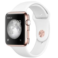 Apple Watch Series 3 (GPS) Rose Gold Case/White Sport Band (Refurbished) Get your Free iPhone 11 Pro Or Apple Accessoires Gift Apple Watch Series 3, Apple Watch 38mm, Used Apple Watch, Rose Gold Apple Watch, Apple Watch Bands, Apple Band, White Apple Watch Band, Apple Watch For Sale, Gold Case