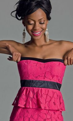 Dont Tell Me What To Wear: Meet Tshego - LEGiTimate Fashion #LEGITsummer2012 What To Wear, Strapless Dress, Shoulder Dress, Hair Beauty, Meet, Reading, Books, Dresses, Style