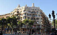 Casa Milá, one of the Gaudí Buildings in Barcelona