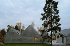 CJWHO ™ (Concrete Summer House in Sweden Boasting a...)