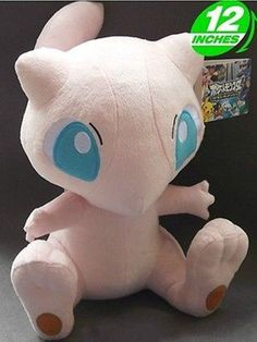 "Plush New Pokemon MEW STUFFED TOY Doll Figure Gift 12""high aaa"