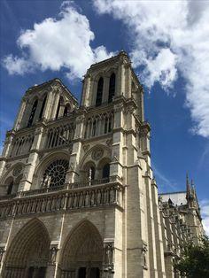 Notre Dame in Paris! Beautiful!