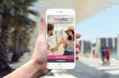 Summer Splashscreen - Meetic