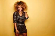 Fleur East is a singer best known for her time on ITV show, X Factor. Fleur East, Itv Shows, The Vamps, Female Singers, Simply Beautiful, Natural Hair Styles, Bodycon Dress, Feminine, Celebs