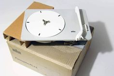 BRAUN PC3 (NEW IN BOX) - PLATTENSPIELER - Dieter Rams - 1955 - VERY RARE | Arte e antiquariato, Modernariato, Apparecchi audio e video | eBay!