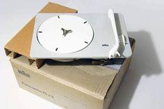 BRAUN PC3 (NEW IN BOX) - PLATTENSPIELER - Dieter Rams - 1955 - VERY RARE   Arte e antiquariato, Modernariato, Apparecchi audio e video   eBay!