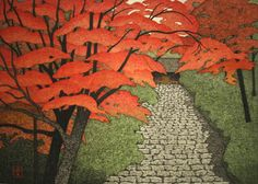 OHTSU,Kazuyuki[Nara in autumn, Muro-ji temple]