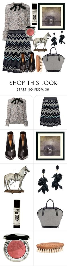 """""""My pretty horse"""" by tinakriss ❤ liked on Polyvore featuring Rochas, M Missoni, Isabel Marant, Amanti Art, Oscar de la Renta, Alexander Wang and Chantecaille"""