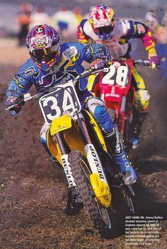 Jimmy Button Leading Timmy Ferry 1994 Daytona | Tony Blazier | Flickr