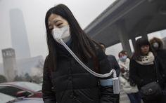 """Aire puro canadiense vendido y respirado en China. Una compañía canadiense ideó una irónica campaña publicitaria embotellando aire de las Montañas Rocosas y poniéndolo a la venta. La mayor parte de las ventas tenían como destino China debido a la alta concentración de contaminantes en el aire de las grandes Urbes. Hace dos meses decidieron comenzar a comercializarlas allí y las primeras 500 botellas de """"Vitality Air"""" que se pusieron a la venta se vendieron en 4 días. Hay en camin..."""