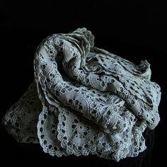 Antique Crochet Table Linen